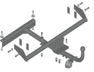 Схема подключения до розетки фаркопа нива шевроле